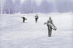 Golfpartners-Körnung-Aufhellung